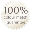100% colour match guarantee