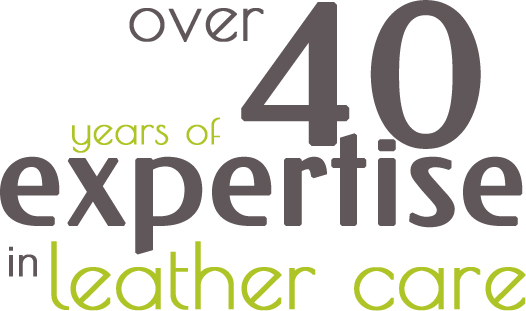 Over 40 years of expertise in leather care